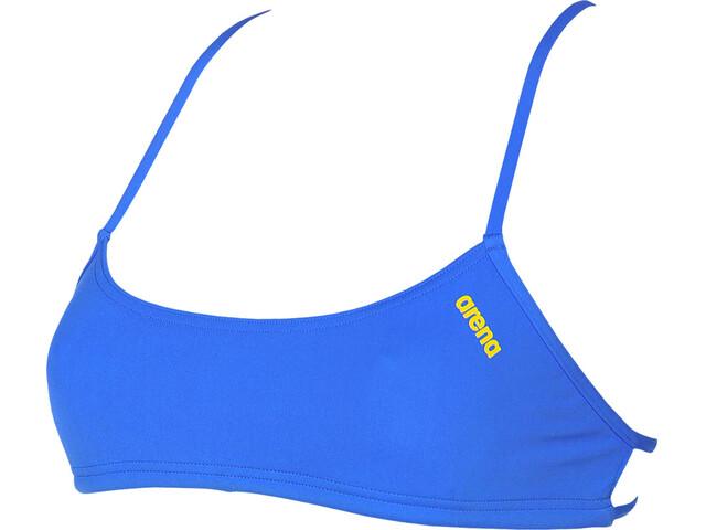 arena Play Bandeau Top Women pix blue-yellow star